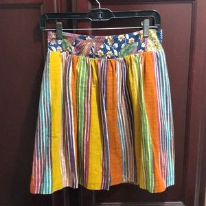 Anthropologie Multi-Colored Skirt❤️🧡💛💚💙💗